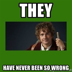 The Hobbit - they have never been so wrong