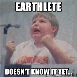 The Fotographing Fat Kid  - Earthlete Doesn't know it yet...