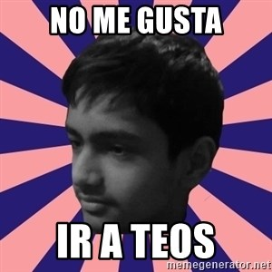 Los Moustachos - I would love to become X - NO ME GUSTA IR A Teos