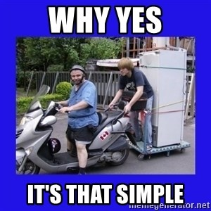 Motorfezzie - Why Yes It's that simple