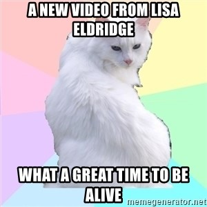 Beauty Addict Kitty - A new video from lisa eldridge what a great time to be alive