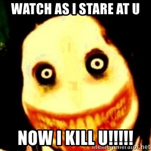Tipical dream - WATCH AS I STARE AT U NOW I KILL U!!!!!