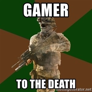 Call Of Duty Addict - gamer to the death