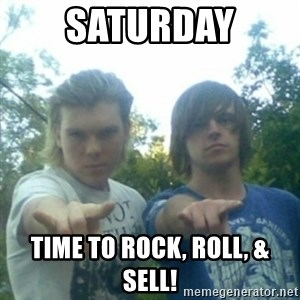 god of punk rock - Saturday Time to Rock, Roll, & Sell!