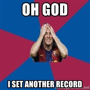 Lionel Messi Problems - oh god i set another record