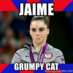 Mckayla Maroney Does Not Approve - jaime grumpy cat
