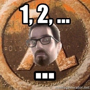 Gordon Freeman - 1, 2, ... ...