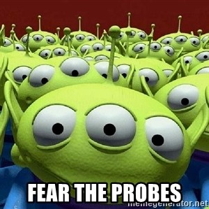 Toy Story Aliens Claw  -  Fear the probes