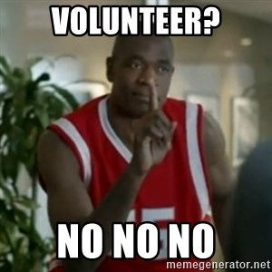 Dikembe Mutombo No No NO - Volunteer? No NO No