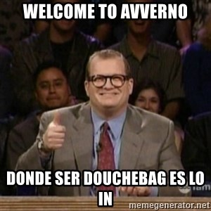 drew carey whose line is it anyway - welcome to avverno donde ser douchebag es lo in