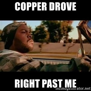 Ice Cube- Today was a Good day - Copper drove  Right past me