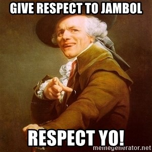 Joseph Ducreux - Give respect to Jambol respect yo!