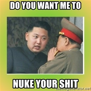 kim joung - do you want me to nuke your shit