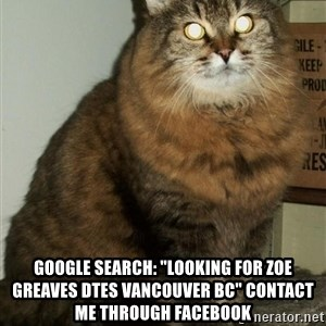 """ZOE GREAVES DTES VANCOUVER -  GOOGLE SEARCH: """"Looking for Zoe Greaves DTES Vancouver BC"""" CONTACT ME THROUGH FACEBOOK"""