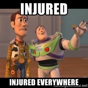 Buzz lightyear meme fixd - Injured injured everywhere