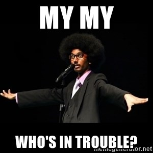 AFRO Knows - MY MY who's in trouble?
