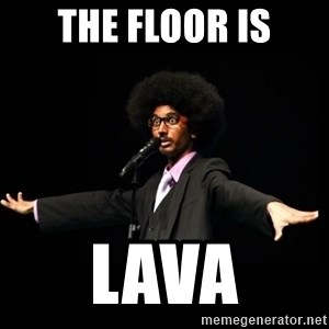 AFRO Knows - The floor is lava