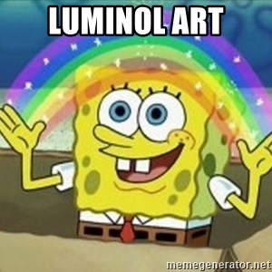 Spongebob - Luminol Art