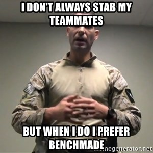 GMRPLS - I don't always stab my teammates but when I do I prefer benchmade