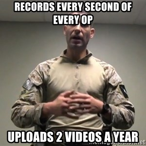 GMRPLS - records every second of every op uploads 2 videos a year