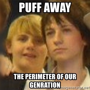 Thoughtful Child - Puff away the perimeter of our genration