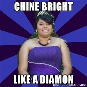 Colibritany xD - CHINE BRIGHT  LIKE A DIAMON