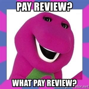 Barney the Dinosaur - PAY REVIEW? WHAT PAY REVIEW?