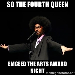 AFRO Knows - So the fourth QUEEN EMCEED THE ARTS AWARD NIGHT