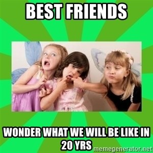 CARO EMERALD, WALDECK AND MISS 600 - best friends wonder what we will be like in 20 yrs