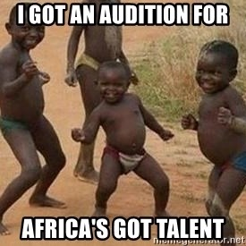 african children dancing - I GOT AN AUDITION FOR AFRICA'S GOT TALENT
