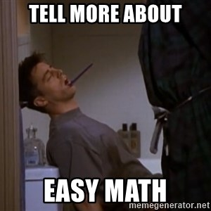 Bored sleeping Joey - tell more about easy math