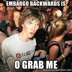 -Sudden Clarity Clarence - embargo backwards is o grab me