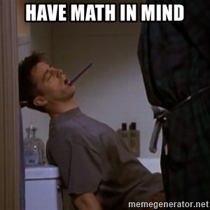 Bored sleeping Joey - have math in mind