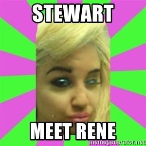 Manda Please! - STEWART  MEET RENE