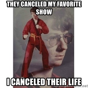 Karate Kid - tHEY CANCELED My favorite show I canceled their life
