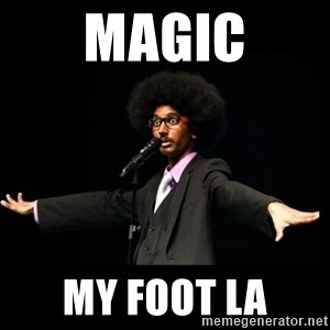 AFRO Knows - magic my foot la