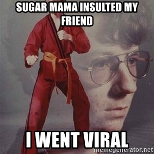 PTSD Karate Kyle - Sugar mama insulted my friend I went viral