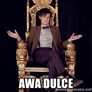 Hipster Doctor Who -  awa dulce