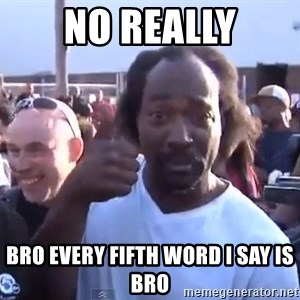 charles ramsey 3 - No really Bro Every fifth word I say is bro