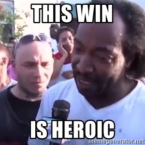 Charles Ramsey - This win is heroic