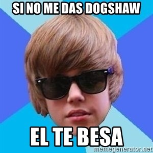 Just Another Justin Bieber - si no me das dogshaw el te besa