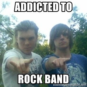 god of punk rock - ADDICTED TO  ROCK BAND