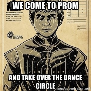 Child queen Phlash Misericord - WE COME TO PROM AND TAKE OVER THE DANCE CIRCLE