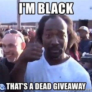 charles ramsey 3 - i'm black that's a dead giveaway