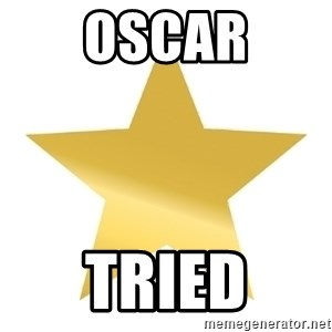 Gold Star Jimmy - Oscar Tried