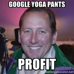 Pirate Textor - Google yoga pants profit
