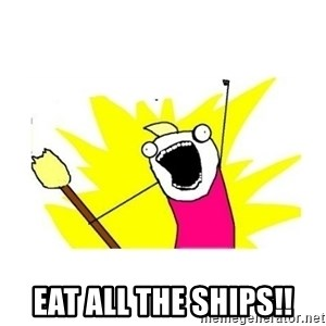 clean all the things blank template -  EAT ALL THE SHiPS!!