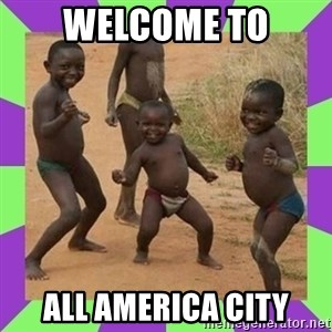 african kids dancing - Welcome to All America city