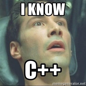 i know kung fu - I Know C++
