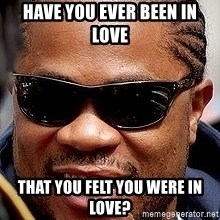 Xzibit - HAVE YOU EVER BEEN IN LOVE THAT YOU FELT YOU WERE IN LOVE?